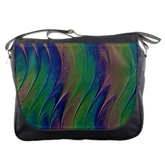 Texture Abstract Background Messenger Bags by Nexatart