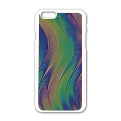 Texture Abstract Background Apple Iphone 6/6s White Enamel Case by Nexatart