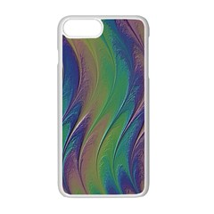 Texture Abstract Background Apple Iphone 7 Plus White Seamless Case by Nexatart