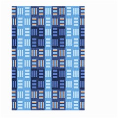 Textile Structure Texture Grid Large Garden Flag (two Sides)