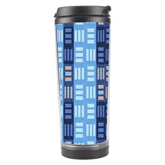 Textile Structure Texture Grid Travel Tumbler by Nexatart