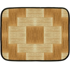 Texture Surface Beige Brown Tan Double Sided Fleece Blanket (mini)  by Nexatart