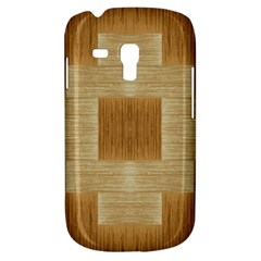 Texture Surface Beige Brown Tan Galaxy S3 Mini by Nexatart