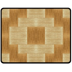 Texture Surface Beige Brown Tan Double Sided Fleece Blanket (medium)  by Nexatart