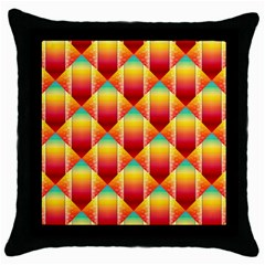 The Colors Of Summer Throw Pillow Case (black) by Nexatart