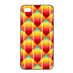 The Colors Of Summer Apple Iphone 4/4s Seamless Case (black)