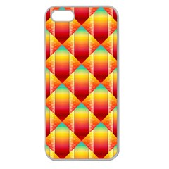The Colors Of Summer Apple Seamless Iphone 5 Case (clear) by Nexatart