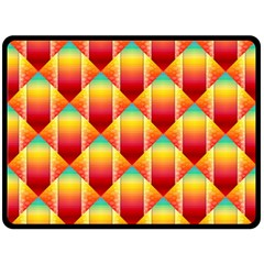 The Colors Of Summer Double Sided Fleece Blanket (large)  by Nexatart
