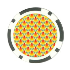 The Colors Of Summer Poker Chip Card Guard