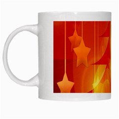 Tree Trees Silhouettes Silhouette White Mugs by Nexatart