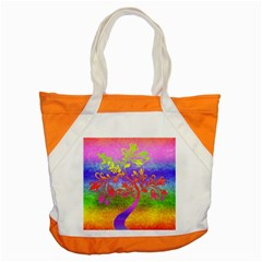 Tree Colorful Mystical Autumn Accent Tote Bag by Nexatart