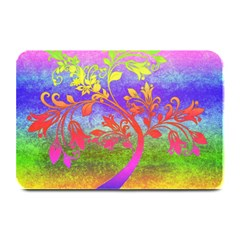 Tree Colorful Mystical Autumn Plate Mats by Nexatart