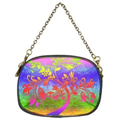 Tree Colorful Mystical Autumn Chain Purses (one Side)  by Nexatart