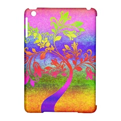 Tree Colorful Mystical Autumn Apple Ipad Mini Hardshell Case (compatible With Smart Cover) by Nexatart