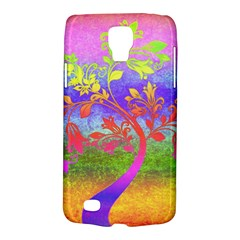 Tree Colorful Mystical Autumn Galaxy S4 Active by Nexatart