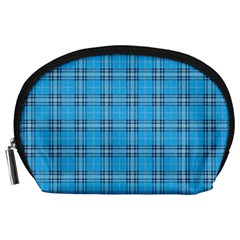 The Checkered Tablecloth Accessory Pouches (large)  by Nexatart