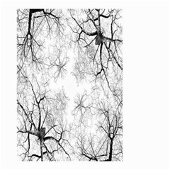 Tree Knots Bark Kaleidoscope Small Garden Flag (two Sides) by Nexatart