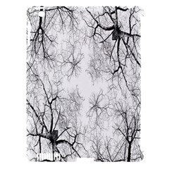 Tree Knots Bark Kaleidoscope Apple Ipad 3/4 Hardshell Case (compatible With Smart Cover)