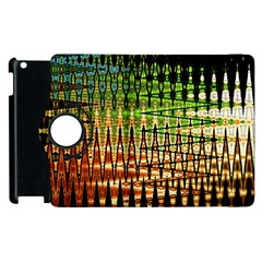 Triangle Patterns Apple Ipad 2 Flip 360 Case by Nexatart
