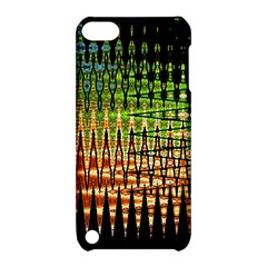 Triangle Patterns Apple Ipod Touch 5 Hardshell Case With Stand