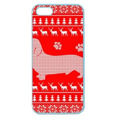 Ugly X Mas Design Apple Seamless Iphone 5 Case (color)
