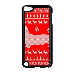 Ugly X Mas Design Apple Ipod Touch 5 Case (black) by Nexatart