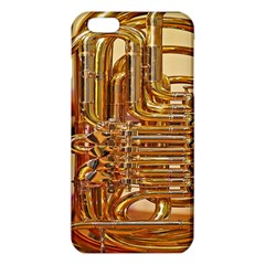 Tuba Valves Pipe Shiny Instrument Music Iphone 6 Plus/6s Plus Tpu Case by Nexatart