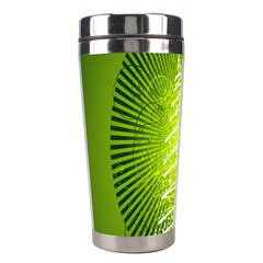 Vector Chirstmas Tree Design Stainless Steel Travel Tumblers by Nexatart