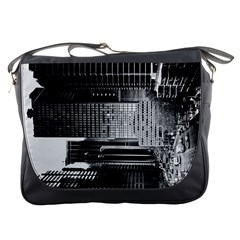 Urban Scene Street Road Busy Cars Messenger Bags