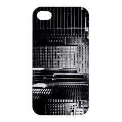 Urban Scene Street Road Busy Cars Apple Iphone 4/4s Premium Hardshell Case