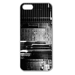 Urban Scene Street Road Busy Cars Apple Seamless Iphone 5 Case (clear) by Nexatart