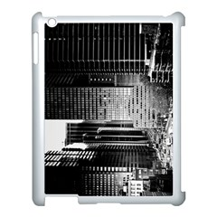 Urban Scene Street Road Busy Cars Apple Ipad 3/4 Case (white) by Nexatart