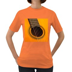 Vintage Guitar Acustic Women s Dark T Shirt