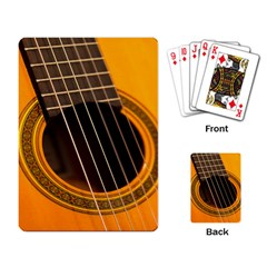 Vintage Guitar Acustic Playing Card