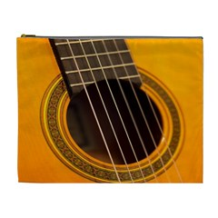 Vintage Guitar Acustic Cosmetic Bag (xl)