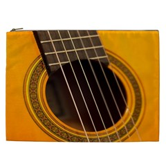 Vintage Guitar Acustic Cosmetic Bag (xxl)