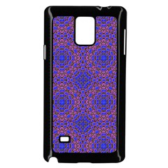 Tile Background Image Pattern Samsung Galaxy Note 4 Case (black)