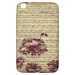 Vintage Music Sheet Song Musical Samsung Galaxy Tab 3 (8 ) T3100 Hardshell Case  by Nexatart