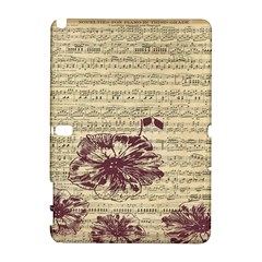 Vintage Music Sheet Song Musical Galaxy Note 1 by Nexatart