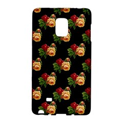 Vintage Roses Wallpaper Pattern Galaxy Note Edge by Nexatart