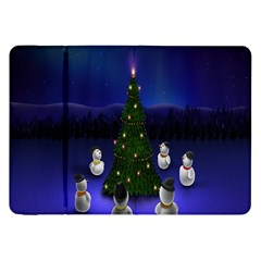 Waiting For The Xmas Christmas Samsung Galaxy Tab 8 9  P7300 Flip Case