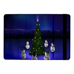 Waiting For The Xmas Christmas Samsung Galaxy Tab Pro 10 1  Flip Case by Nexatart