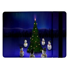 Waiting For The Xmas Christmas Samsung Galaxy Tab Pro 12 2  Flip Case