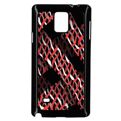 Weave And Knit Pattern Seamless Samsung Galaxy Note 4 Case (black) by Nexatart