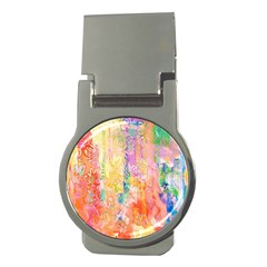 Watercolour Watercolor Paint Ink Money Clips (round)  by Nexatart