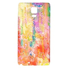 Watercolour Watercolor Paint Ink Galaxy Note 4 Back Case