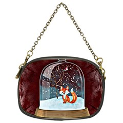 Winter Snow Ball Snow Cold Fun Chain Purses (one Side)