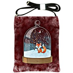 Winter Snow Ball Snow Cold Fun Shoulder Sling Bags