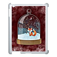 Winter Snow Ball Snow Cold Fun Apple Ipad 3/4 Case (white) by Nexatart