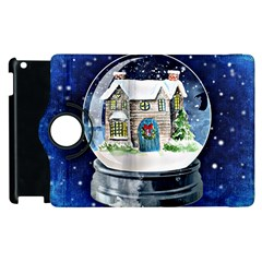 Winter Snow Ball Snow Cold Fun Apple Ipad 3/4 Flip 360 Case by Nexatart